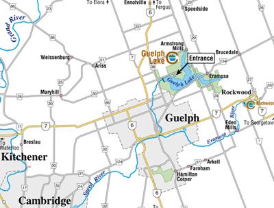 Guelph Lake Map