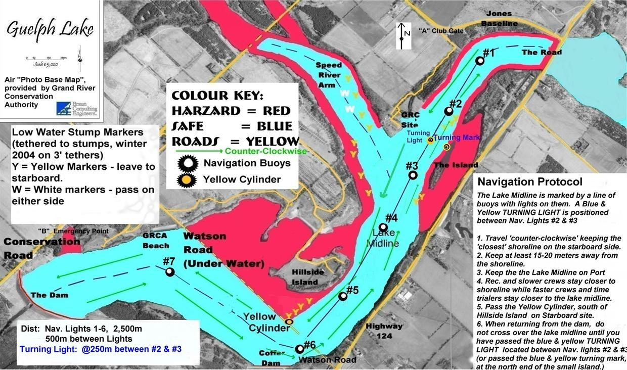 The Layout of Guelph Lake