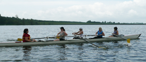 Rowing all together